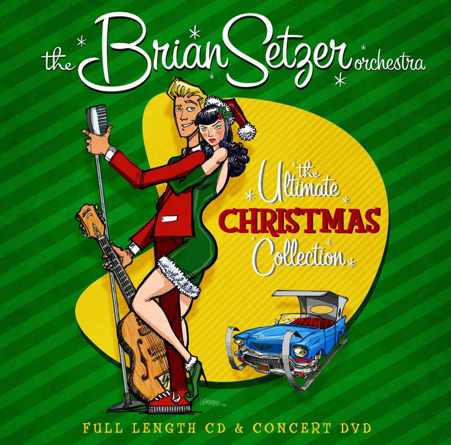 Brian Setzer Orchestra - The Ultimate Christmas Collection - Surfdog ...