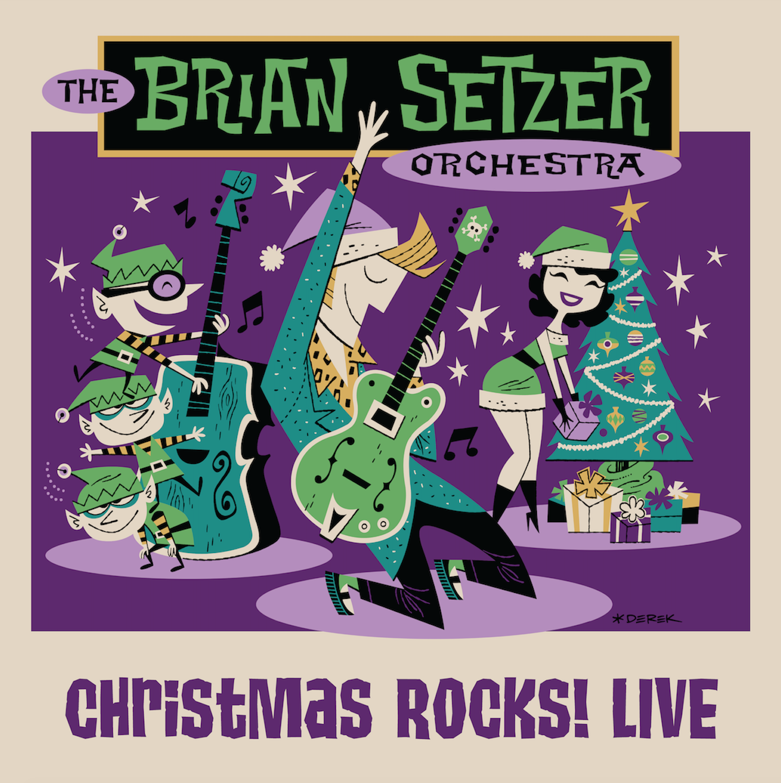 THE BRIAN SETZER ORCHESTRA - CHRISTMAS ROCKS! LIVE (BLU-RAY ...