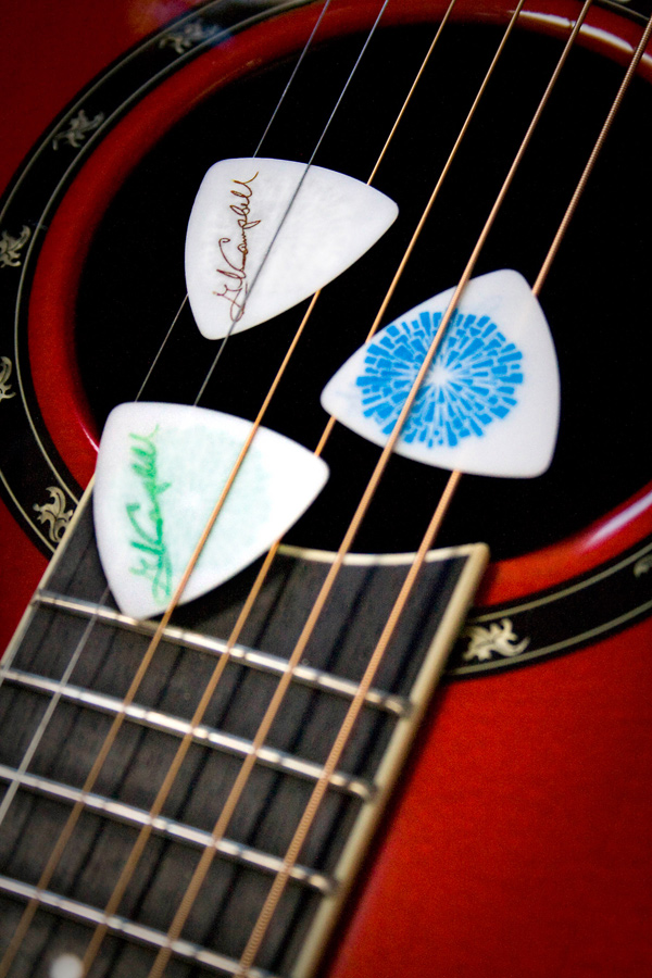 Glen Campbell Goodbye Tour Guitar Picks