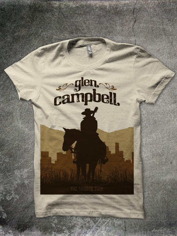 "Glen Campbell ""Cowboy"" T-shirt"